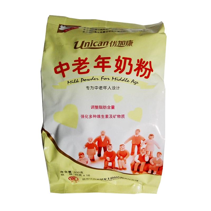 龙王中老年无蔗糖奶粉