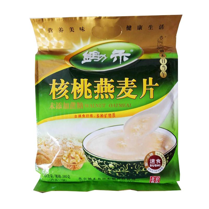 锄禾无蔗糖核桃燕麦片
