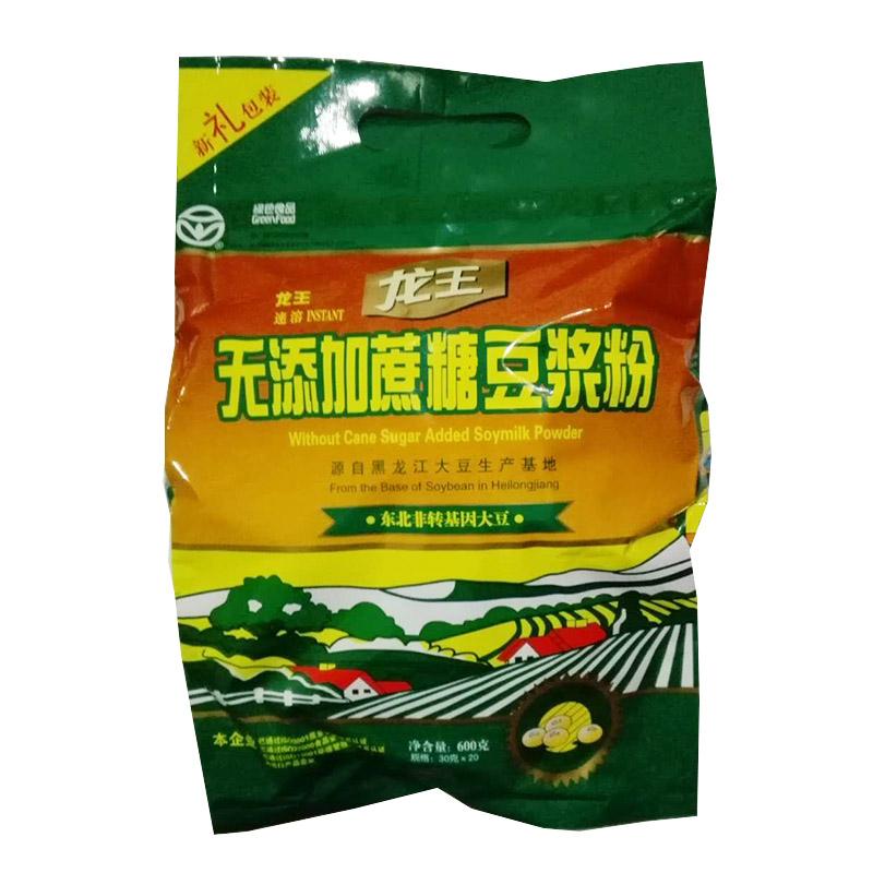 龙王无蔗糖豆浆粉600