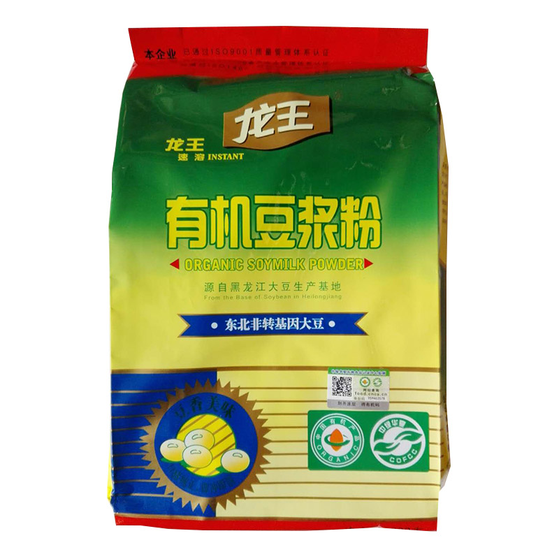 龙王有机豆浆粉300克