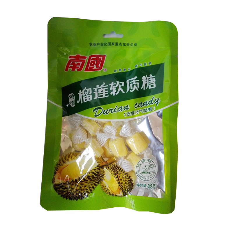 南国榴莲糖82克4.5元