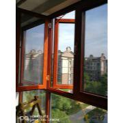 郑东新区绿地老街小区85钢网一体窗
