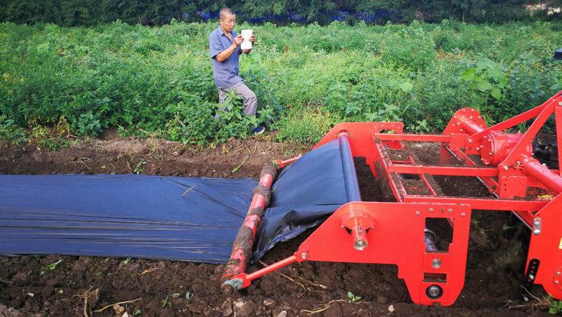 水稻覆膜种植合成设备