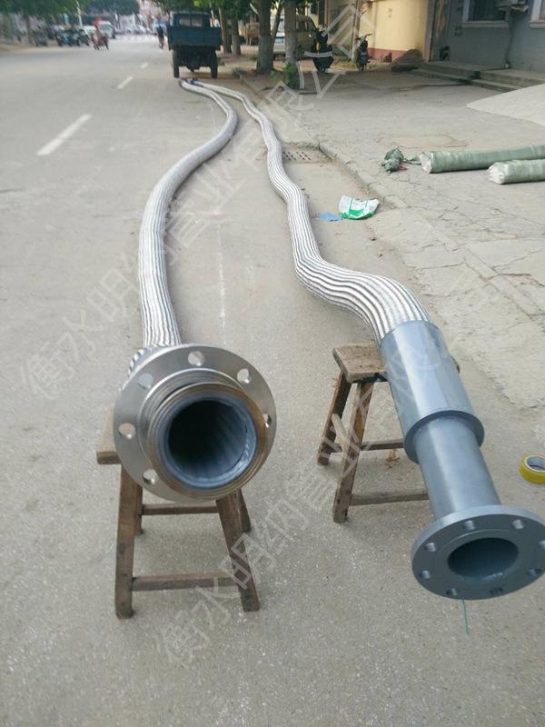 吹氧金属软管