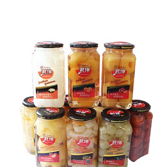 唐山水果罐头