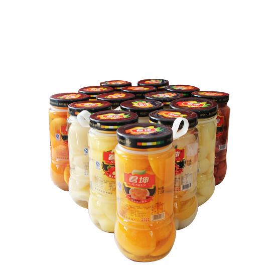 君坤牌水果罐头