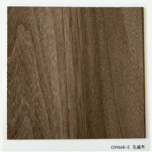 三聚氰胺纸样板G39668-2孔雀木