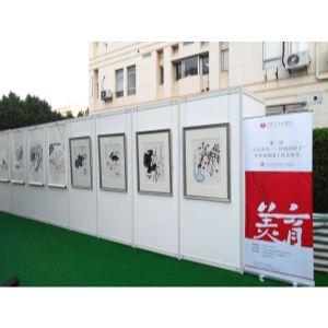 室外儿童画展布展,上海户外画展义卖活动布展