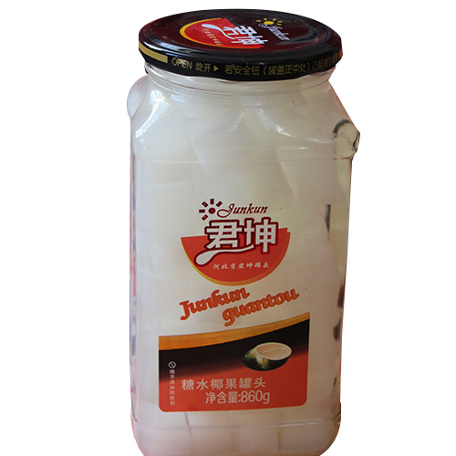 糖水椰果罐头