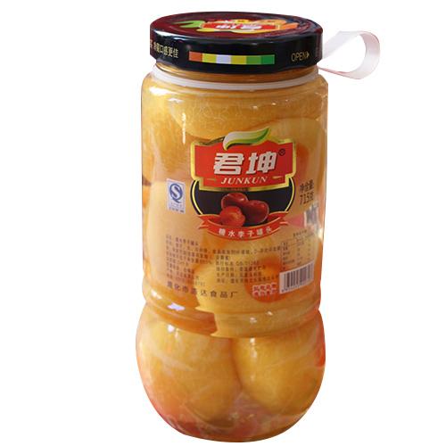 糖水李子罐头