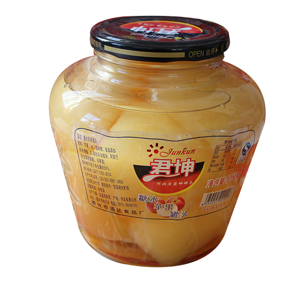糖水苹果罐头