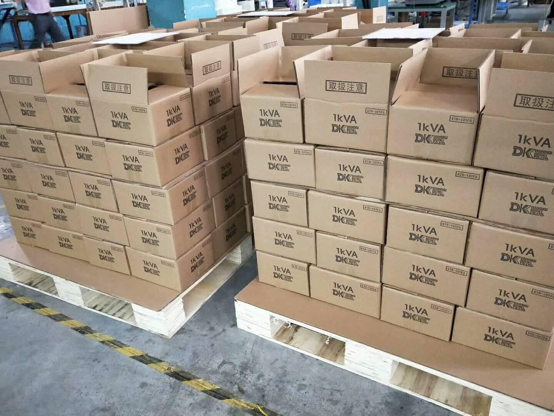 生產線上正在組裝包裝出口產品圖