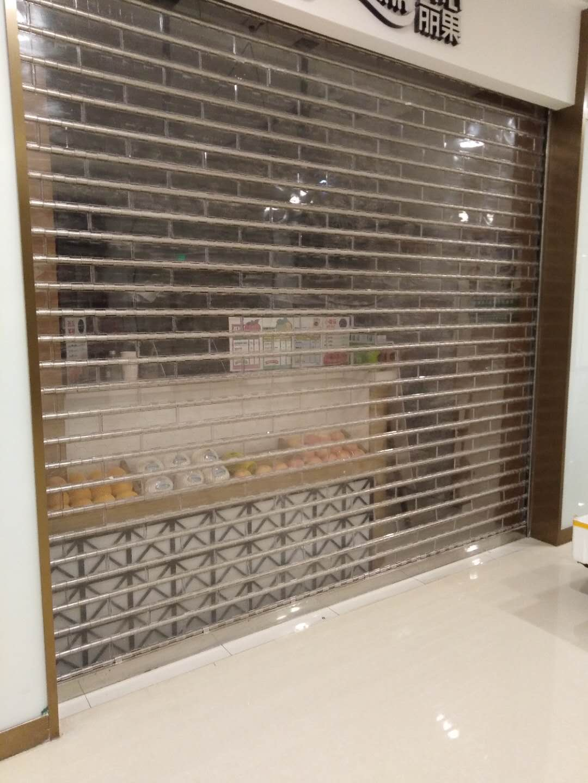 杭州水晶卷帘门安装