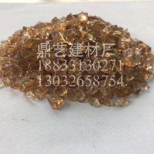 水晶黄玻璃砂3-6