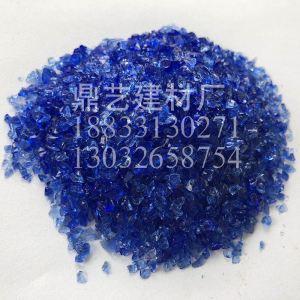 钻蓝色玻璃砂3-6
