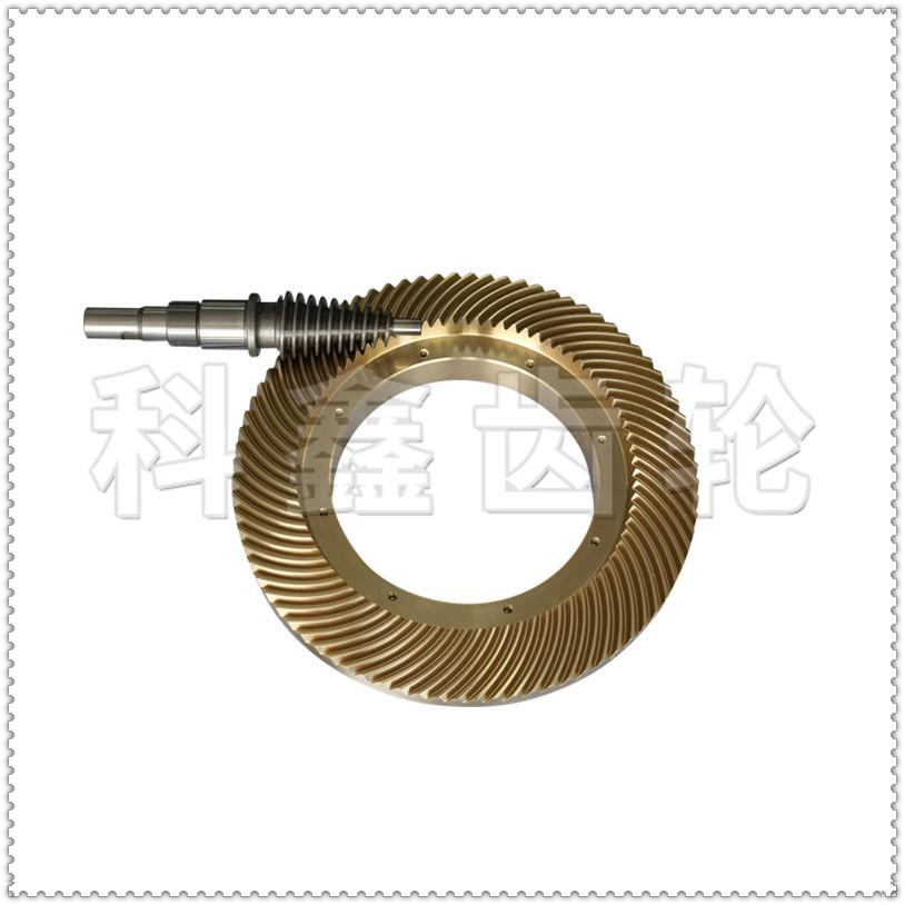 科鑫齿轮|锥蜗杆副|螺旋伞齿轮定制