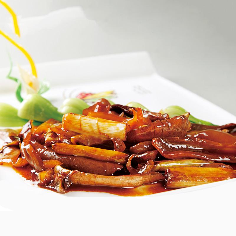 鲁菜代表菜——葱烧海参
