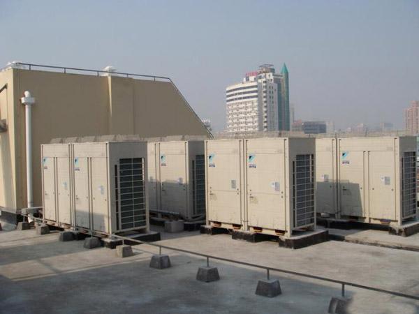 工程案例-美的中央空调安装