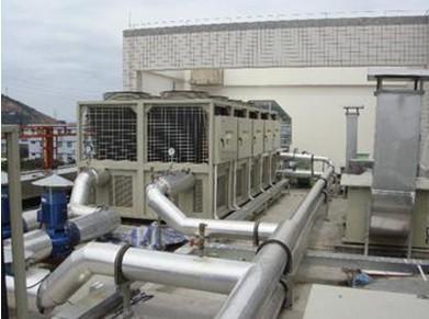 工程案例-美的中央空调维修工程