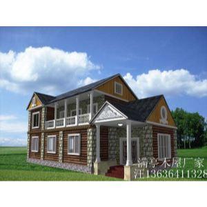 木屋别墅,农家乐房子,景区木屋、休息亭长春木广东农安木头图片