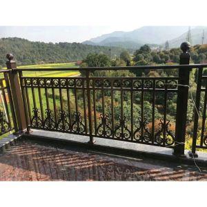 铝艺阳台护栏实拍图