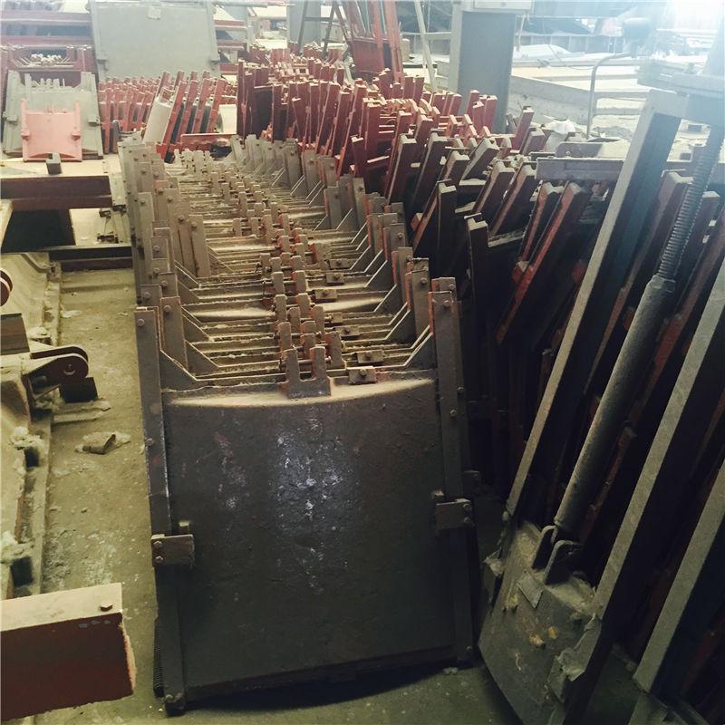 强华水利 平面钢闸门液压翻板闸门 闸门启闭机厂家