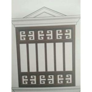 锌钢飘窗护栏
