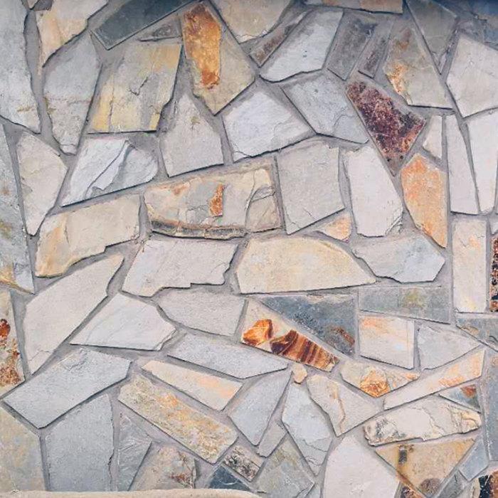 黄杂乱形石