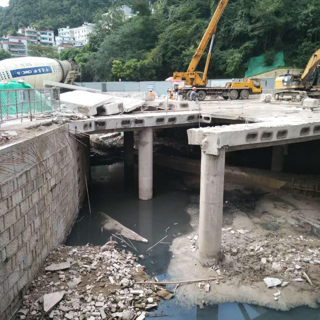 混凝土切割|支撑梁切割|江西桥梁拆除