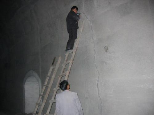 墙体裂缝灌浆加固