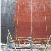 胜发J55冷却塔专用耐酸防水涂料 贵阳电厂冷却塔防腐涂料 遵义电厂  AL901冷却塔防腐防水涂料