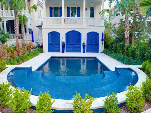 游泳池案例