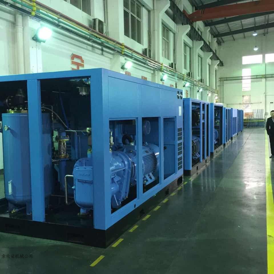 索倫諾 紡織專用低壓永磁空壓機 低壓螺桿空壓機大圖