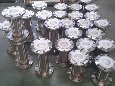 河南|衬四氟金属软管|大口径高压吸排管厂家
