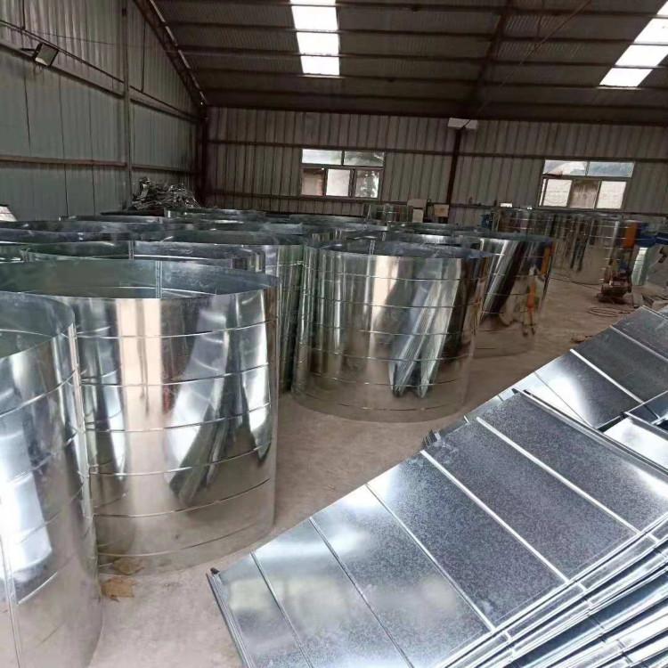不锈钢风管加工,郑州螺旋风管,河南通风