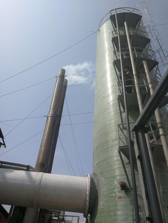 山西玻璃钢脱硫塔厂家|玻璃钢脱硫塔质量