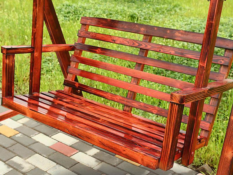 防腐木摇椅系列