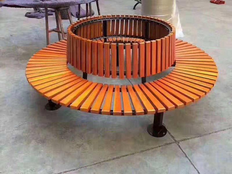 防腐木公园座椅系列