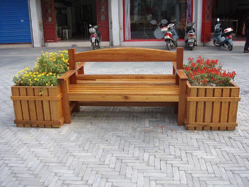 河南郑州防腐木花箱