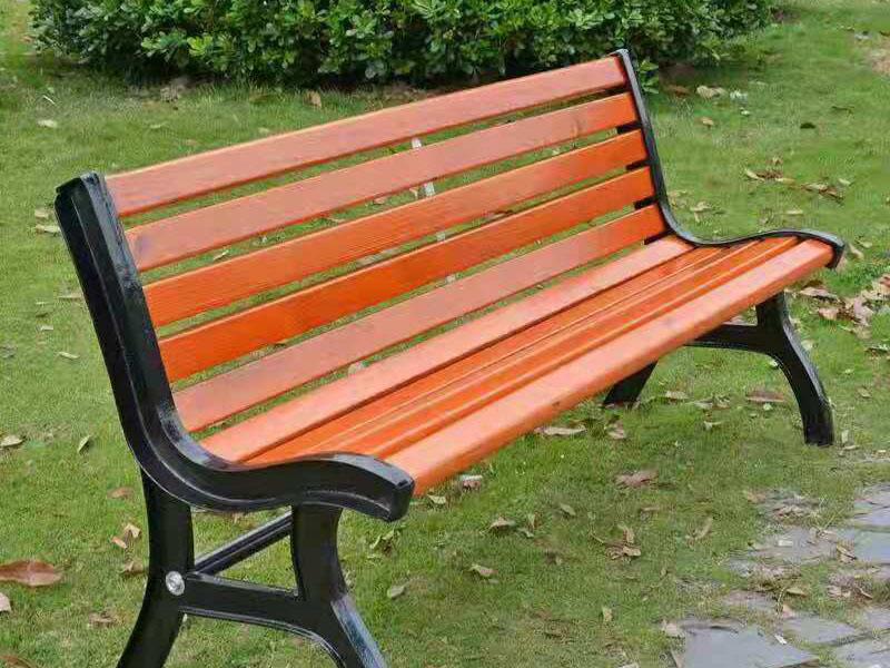 防腐木公园座椅