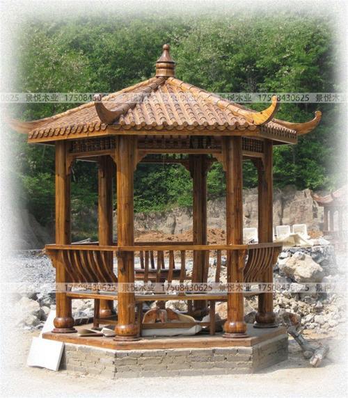郑州防腐木凉亭,河南