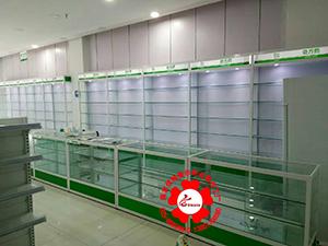 南京药房玻璃柜台贵希药品