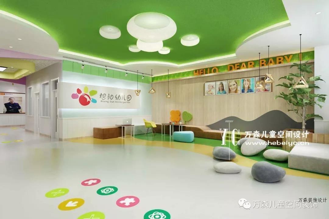 邢台|幼儿园大厅设计|专业整体设计幼儿园公司|幼儿园设计装修