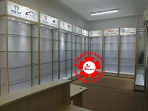 南京玻璃展柜[多种颜色可