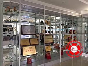 奖牌奖杯玻璃展示柜