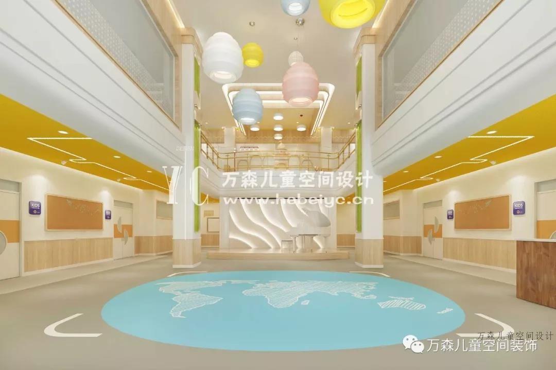 邢台|万森幼儿园设计|新天际幼儿园|幼儿园室外设计