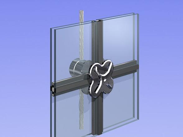 索网式玻璃幕墙