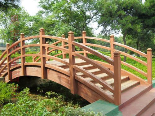 郑州防腐木木桥加工,