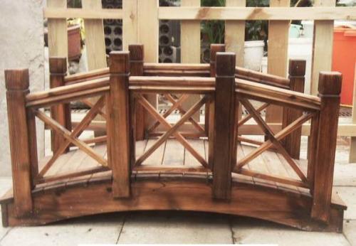 河南郑州防腐木木桥