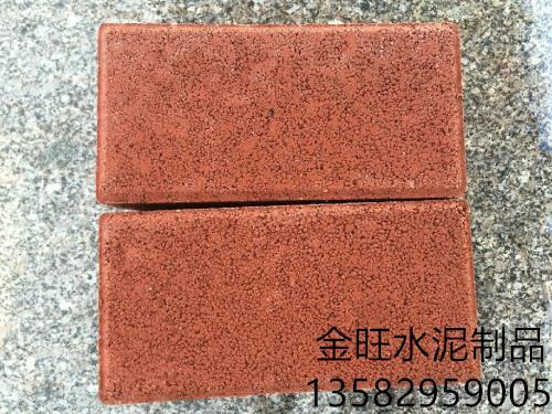 唐山渗水砖批发